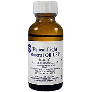 Topical Light Mineral Oil USP 25ml oil by Geritrex by Geritrex