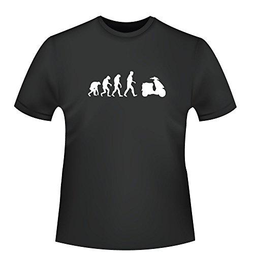 Roller Evolution, Herren T-Shirt - Fairtrade - ID104928 Schwarz