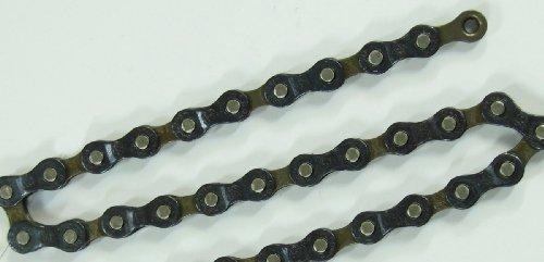 POINT Fahrrad Kette 116 Glieder ~ für 5-/6-/7-fach Zahnkranz ~ passend für Ketten-Schaltsysteme bis 21-Gang - 2