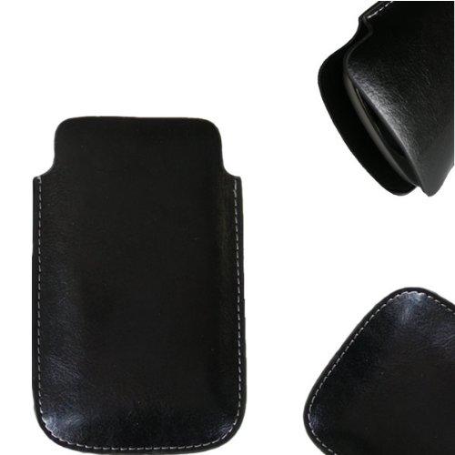 NFE² Etui offen Lederetui Tasche Holster Handy Hülle für Samsung Xcover 271 - B2710
