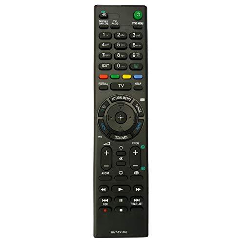Yantai RMT-TX100E Fernbedienung für Sony KD43X8307 KD-55X8005C KD-65X8508C KD-49X8005C