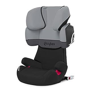 Cybex - Silla de coche grupo 2/3 Solution X2-Fix, para coches con y sin ISOFIX, 15-36kg, desde los 3 hasta los 12 años aprox., Cobblestone (B00M2OA5SO) | Amazon Products