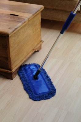 Waxed Floor Duster: Home Valet