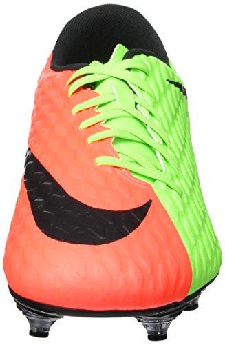 Nike Hypervenom Phade Iii Sg, Scarpe da Calcio Uomo Verde (Elctrc Green/black-hyper Orange-volt)