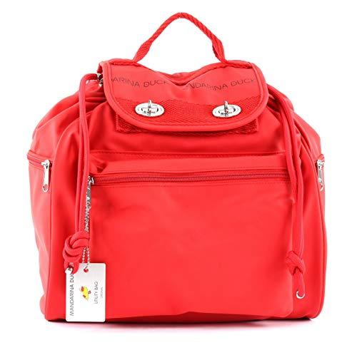 Utility-rucksack (Mandarina Duck Rucksack Damen rot - P10UQT0124F)