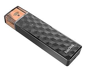La clé USB sans fil SanDisk ConnectTM représente le lecteur flash réinventé et permet de travailler non seulement avec l'ordinateur, mais également avec des téléphones portables et tablettes.Accédez sans fil à vos médias, transférez des fichiers volu...