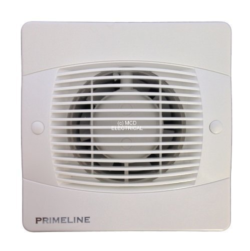 """Primeline PEF4020 Extractor Fan 4"""" with run on timer"""