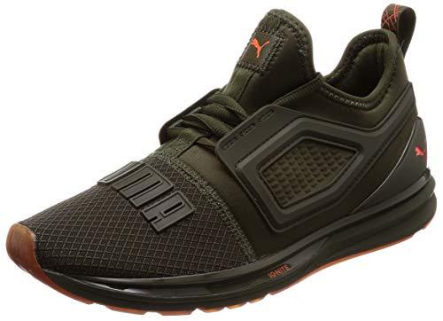 Puma sneakers ignite limitless 2 unrest verde arancio 191295-01 (43 - verde)