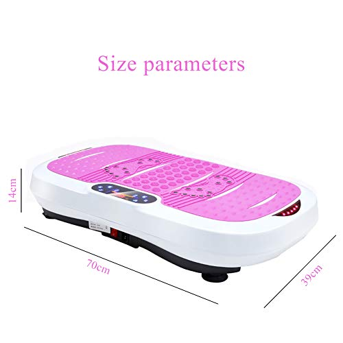 DONG Vibration Power Plate Crazy Fitness Exercise Machine Oscillating Platform Full Body Fit