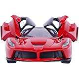 YeeHaw Remote Control Ferrari R/C Car with Openable Doors and Rechargeable Batteries for Kid's (Color May Vary)