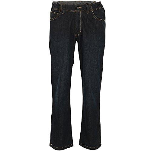 MASCOT® YOUNG Bundhose Jeans Fafe, Schrittlänge 90cm (47, Denimblau) (Jeans Herren Schrittlänge)