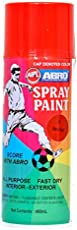 Abro Colour Spray Paint (400ml, Mars Red)