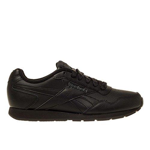 Reebok Damen Royal Glide Sneaker, Schwarz (Black/Solid Grey Royal 0), 37 EU (Schuh Solid Damen Schwarz)