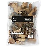 Smokey Olive Wood 5Kg, Tacos de Madera de encina para Barbacoa y ahumar, Talla
