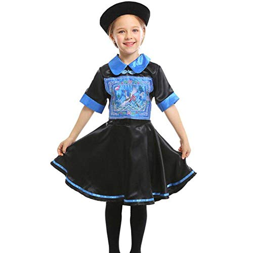 QWE Halloween Kostüm Zombie Rollenspiel Kostüme Kindertag Bühnendrama Kostüme Kinder Performance Kostüme (Berühmte Halloween Kostüm)