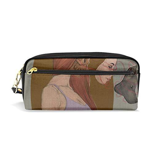 Wolf In Sheep's Clothing Cosmetici Borse Astuccio portatile da viaggio Trucco Organizzatore Borse multifunzione per le do