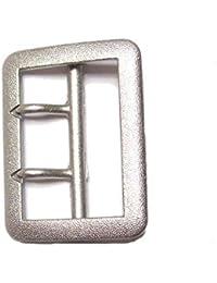 4,5 cm Gürtelschnalle Zweidorn für Koppelgürtel