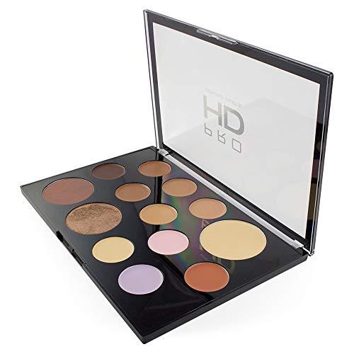 Revolution Pro HD Palette - The Works Medium/Dark