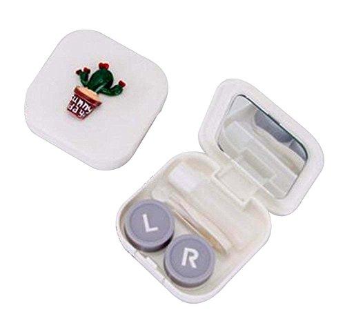 [A] Schöne stilvolle Kontaktlinsen Case Storage Holder