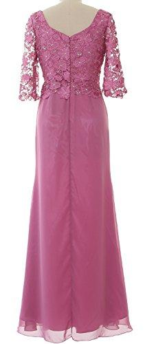MACloth - Robe - Trapèze - Manches Courtes - Femme pastèque
