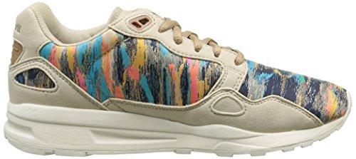 Le Coq Sportif - Lcs R900 W Cloud Jacquard, Sneaker Donna Beige (Beige (Gray Morn))