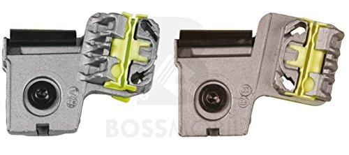 Preisvergleich Produktbild Bossmobil PEUGEOT 607, VW Bora , VW Golf 4, Vorne Rechts 2Tür und 4Tür, manuell oder elektrischer Fensterheber-Reparatursatz