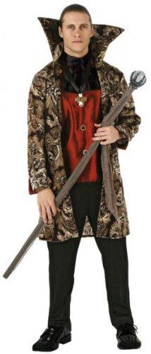 Atosa 96687 - Verkleidung Vampir, Erwachsene  Gr. (Regal Vampira Kostüm)