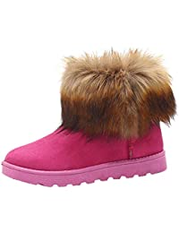 442a3f4bbb5b S H-NEEDRA Chaussures Femme Mode Automne Garder Au Chaud Hiver Cheville  Martin Snow Bootie Bottes