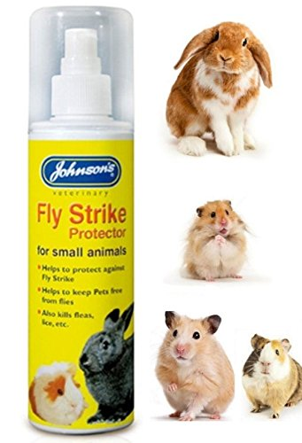 Johnson's Fly Strike Fly Free Rabbits Ferrets Guinea Pigs protects against Flies 1