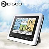 United States : DG-TH8888Pro Color Wireless Weather Station Home Thermometer USB Outdoor Indoor