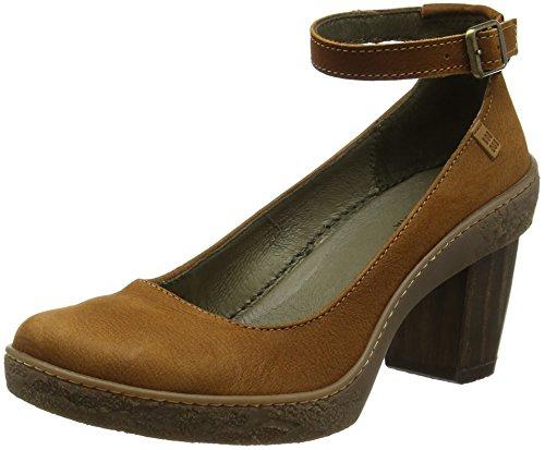 El Naturalista S.A Nf76 Pleasant Lichen Zapatos con correa de tobillo, Mujer