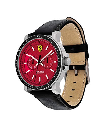 Scuderia Ferrari Turbo Quarzuhr silber - 2