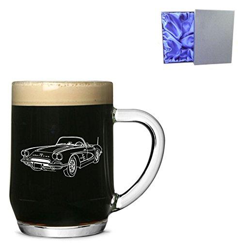 1-haworth-english-pint-glass-tankard-with-1960-chevrolet-corvette-design-with-presentation-box