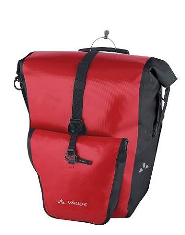 Vaude Aqua Back Plus Sacoche de vélo ( une paire ) Rouge/Noir