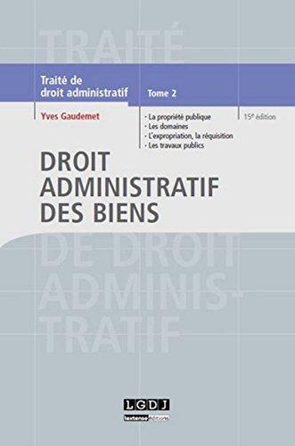 Droit administratif des biens, vol 2