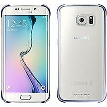Samsung Clear - Funda oficial para Samsung Galaxy S6 Edge, color negro