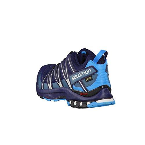 Salomon Homme XA Pro 3D, Black/Magnet/Quiet Shade, Synthétique/Textile, Chaussures de Course à Pied et Trail Running, Taille 44.6 Blau