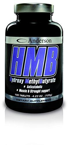 Integratore anderson hmb 100 cpr calcio beta-idrossimetilbutirrato anti-catabolico