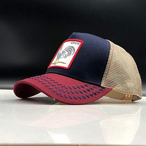 kyprx Herren Baseball Caps Günstige Herren Baseball Cap Herren Damen Animal Farm Trucker Cap Hut Atmungsaktiv Hut Herren Caps Hüte