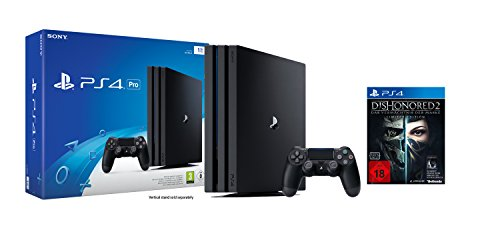 PlayStation 4 Pro + Dishonored 2: Das Vermächtnis der Maske - Limited Edition (inkl. Definitive Edition) Bundle