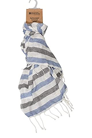 Mountain Warehouse Pebble Striped Women's Scarf - Comfortable, Soft Fabric