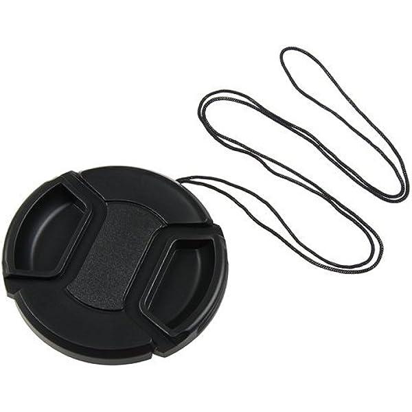 per obiettivo fotocamera Sony SLR Alpha AF a baionetta Copriobiettivo 5 pezzi kit copriobiettivo in plastica nera leggero resistente alla polvere e resistente ai graffi difficile da staccare