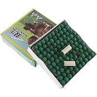 Injoyo Paquete De 100 Reemplazos De Puntas De Taco Universales 9mm 10mm Tapas De Varilla De Billar - Verde, 9mm