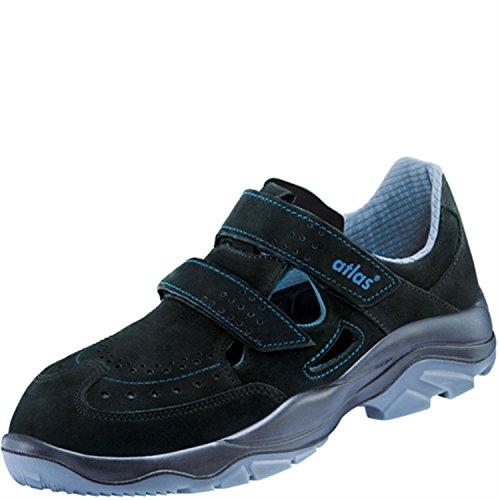 Atlas , Chaussures de sécurité pour homme Schwarz/Blau S1 W12