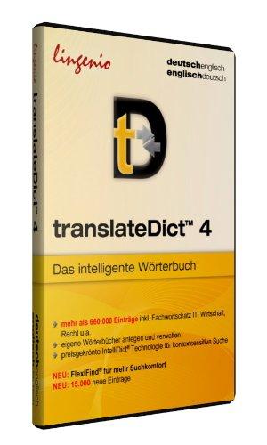 translateDict TM 4 Deutsch-Englisch, Englisch-Deutsch, 1 CD-ROM Standard-Edition. 660 000 Einträge