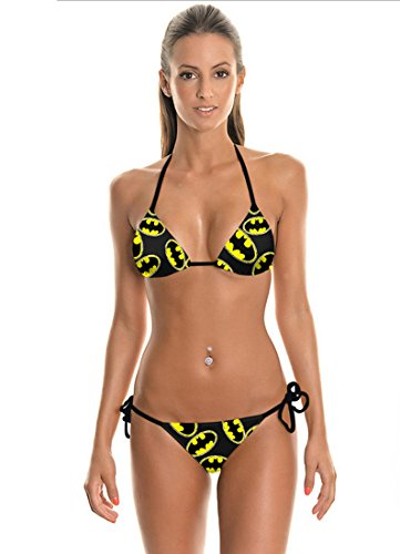 Thenice, modisches Bikini-Set Bat man