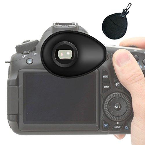 First2savvv Calidad premium Cámara réflex DSLR 22mm Ojera para Nikon D750 D610 D600 D500 D300S D7200 D7100 D7000 D90 D5500 D5300 D5200 D5000 D3400 D3300 D3200 D3100 D700 D300 D200 D100 D80 D70 D60 D70 D60 DSLR Camera + bolsa de lente UV - QJQ-TX-P-P01UV