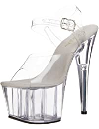 645b3da26c12 Amazon.co.uk  Transparent - Sandals   Women s Shoes  Shoes   Bags