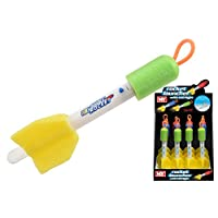 KandyToys Light Up Rocket Launcher Assorted Colours