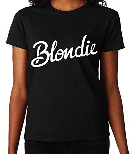 Blondie Sign Women's Black T-shirt